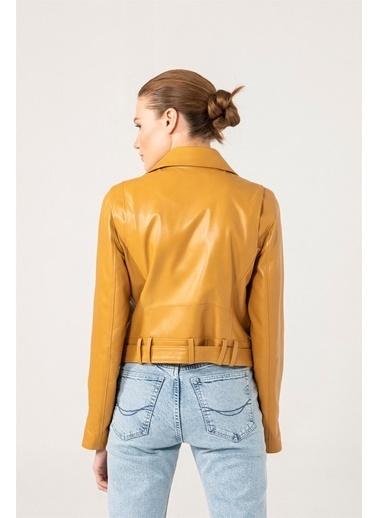 Black Noble Ceket Sarı